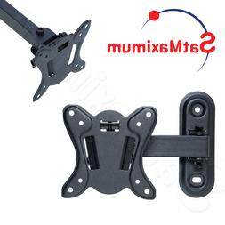 "Flat MONITOR TV Wall Mount 13""-30"" Articulating TILT and Swi"