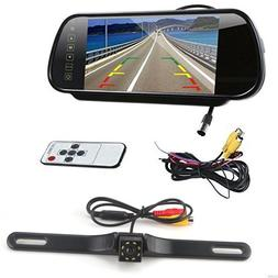 7 Inch 16:9 TFT High Resolution LCD Widescreen Rearview mirr