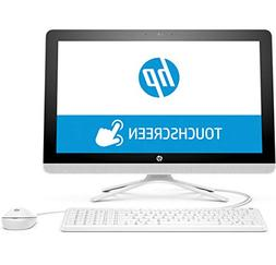 """2018 Newest HP All-in-One 21.5"""" Full HD IPS Touchscreen Desk"""
