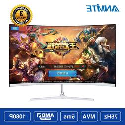 Anmite 21.5 inch TFT Lcd FHD Hdmi Curved <font><b>monitor</b