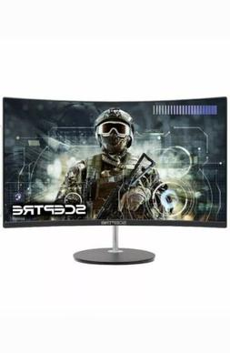 "Sceptre 24"" Curved Gamer Computer Gaming LED Monitor Full HD"