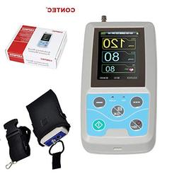 CONTEC 24 Hours Ambulatory Blood Pressure Monitor ABPM50 Fre