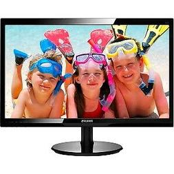"""Philips 246V5LHAB 24"""" LCD Monitor with SmartControl Lite"""