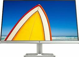 """HP - 24f 23.8"""" IPS LED FHD FreeSync Monitor - Natural Silver"""