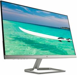 "HP - 27f 27"" IPS LED FHD FreeSync Monitor - Natural Silver"