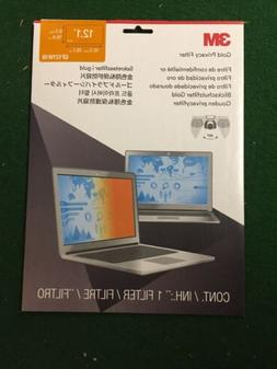 """3M Gold Privacy Filter for 12.1"""" Widescreen Laptop"""