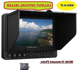 """LILLIPUT 7"""" 665/S/P HD-SDI Peaking Focus HDMI In&Out Monitor"""