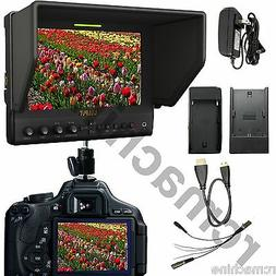 """Limited SALE Lilliput 7"""" 663/O IPS 1080P HDMI In Out Monitor"""
