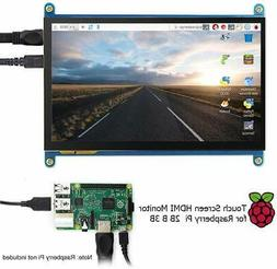 """7"""" HD IPS Capacitive Touchscreen Display 1024*600 Resolution"""
