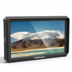 """LILLIPUT A5 5"""" 1920x1200 IPS Camera Monitor 4K HDMI For A7S"""