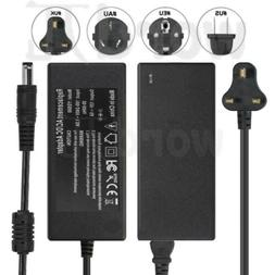 LCD AC Power Supply Adapter DC 12 Volt 5 Amp  LCD Monitor 5.