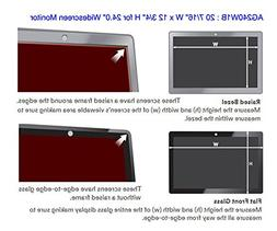 Anti Glare Filter For 24In Widescreen Display 16:10 Ratio
