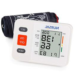 NURSAL Digital Blood Pressure Monitor with Large LCD Screen