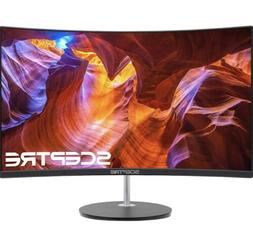 "Sceptre C248W-1920R 24"" Curved 75Hz Gaming LED Monitor Full"