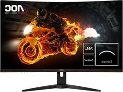 "AOC C32G1 31.5"" Curved Frameless Gaming Monitor, FHD 1920x10"