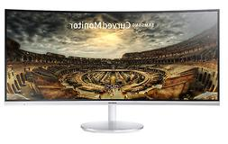 Samsung CF791 Series 34-Inch Curved White Widescreen Monitor