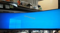 SAMSUNG CHG90 Series 49-Inch Curved Gaming Monitor 3840x1080