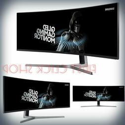 SAMSUNG CHG90 Series 49-Inch Curved Gaming Monitor  With QLE