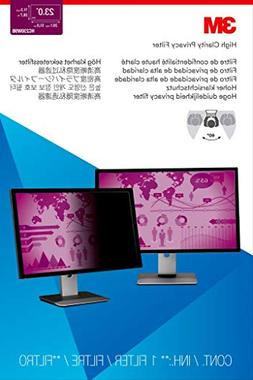 """3M High Clarity Privacy Filter for 23.0"""" Widescreen Monitor"""