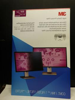 """3M™ High Clarity Privacy Filter for 23"""" Widescreen Mon"""