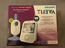 Philips Avent Digital Video Baby Monitor Babyphone SCD854/26