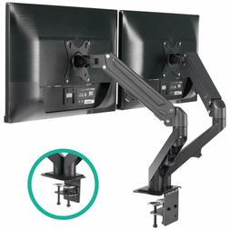 Dual Arm Monitor Stand - Height Adjustable Gas Spring Monito