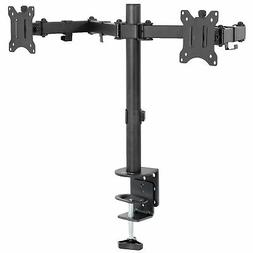 "VIVO Dual Monitor 13"" to 30"" Desk Mount Stand, Heavy Duty, F"