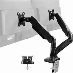 Dual Monitor Counterbalance Gas Spring Desk Mount Stand | Fi