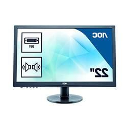 AOC e2260Swda Professional 21.5'' LED-Backlit LCD Monitor, B