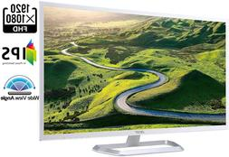 """Acer Eb321Hq Awi 32"""" Full Hd  Ips Monitor ,White"""