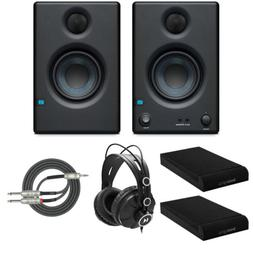 Presonus Eris-E3.5 Monitor with Knox Gear Isolation Pads and