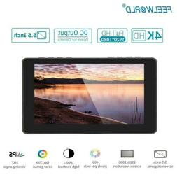 FEELWORLD F5 Pro 5.5 inch ouch Screen 4K HDMI Type C DSLR Ca