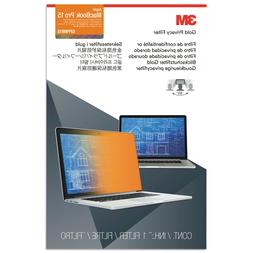 """Frameless Gold Privacy Filter for 15"""" Widescreen MacBoo"""