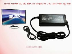 Global AC Adapter For ASUS ROG SWIFT LCD LED Gaming Monitor