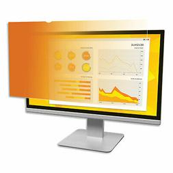 """Gold Privacy Filter For 24"""" Widescreen Monitor"""
