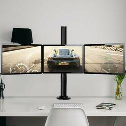 Heavy Duty 3 Monitor Arm Desk Table Mount Stand Triple-end f
