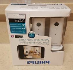 Philips In.Sight M100D/37 M100 Two Pack Wireless Home Monito