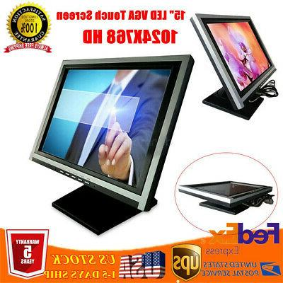 15 inch 1024x768 resolution vga led lcd