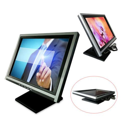 VGA Touch Screen Cafe Retail Bar W/ POS Stand