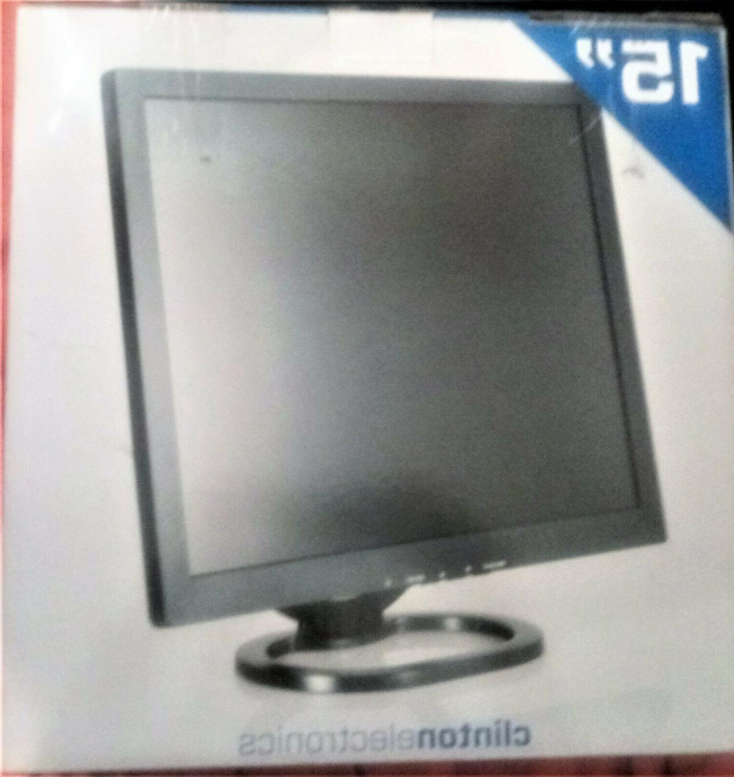 15in electronics monitor vt 568
