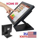 "2017 NEW 15"" Touch Screen LED TouchScreen Monitor Retail Kio"