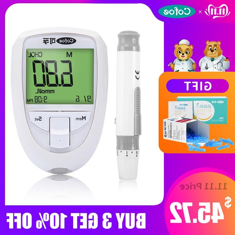 3 in 1 cholesterol meter uric acid