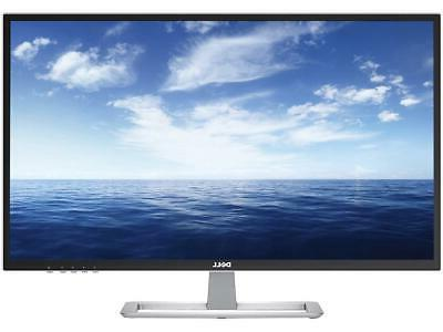 Dell Series LED-Lit Monitor White D3218HN, FHD 1920x1080, LED Back-lit, VESA