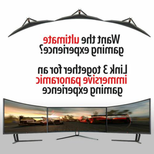 """35"""" Curved Ultrawide LED Gaming Deco Gear"""