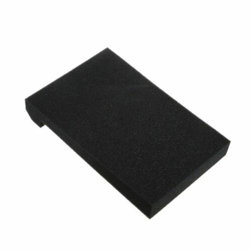Black Sponge Monitor Speaker Pad Accessories