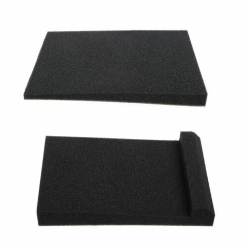 Black Speaker Foam Isolator Pad for Accessories