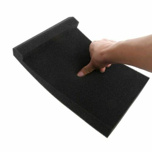 Black Studio Speaker Acoustic Isolator Pad for