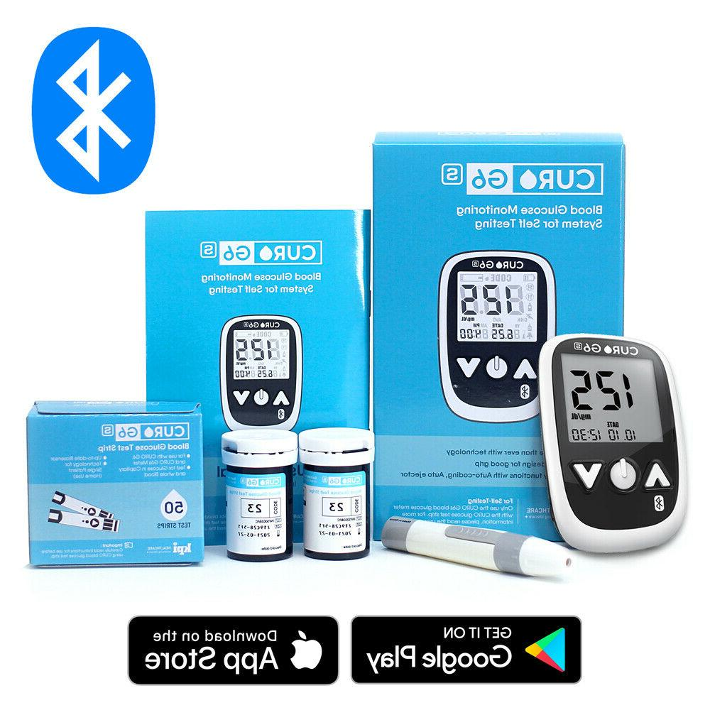 blood glucose test kit curo g6s home