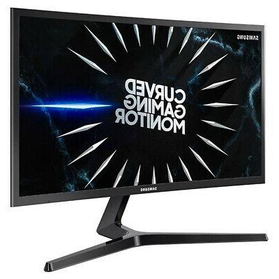 Samsung C24RG50 144 Hz Curved FreeSync LCD Gaming Monitor w/