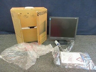 "Philips Computer Monitor Laptop Extension LCD 15"" VGA Displa"